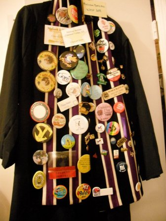 Senior Robe done up in buttons