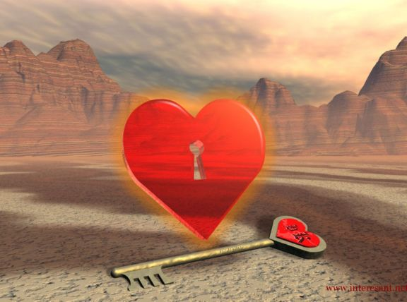 Love and Key heart image