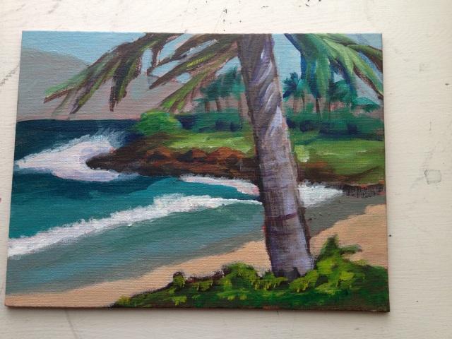 Acrylic:Maui