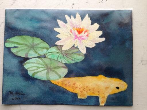 watercolor:Maui