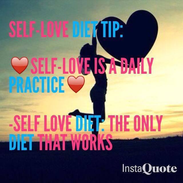Self-Love Diet Daily Practice